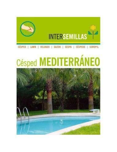 Semillas de Césped Mediterráneo con Grama 1Kg. INTERSEMILLAS - 1