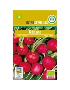 Semillas de Rabanito Rojo Saxa Ecológicas 5gr.