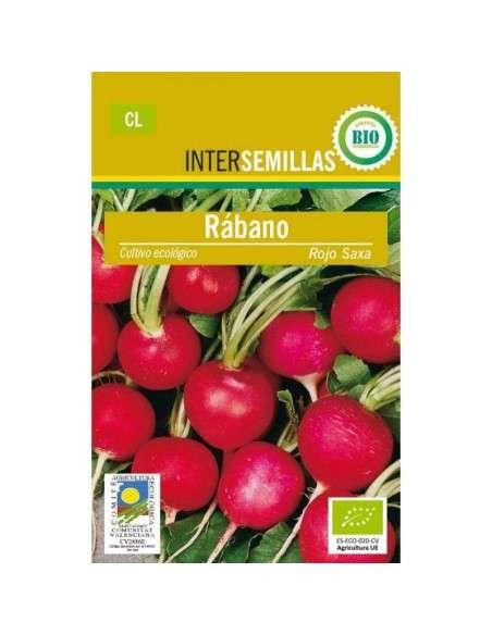 Semillas de Rabanito Rojo Saxa Ecológicas 5gr. INTERSEMILLAS - 1