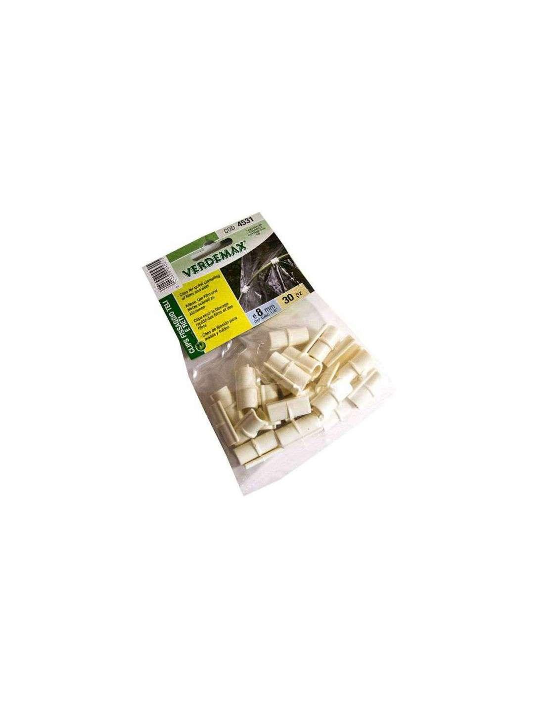 clip sujeccion plastico invernadero