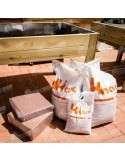 Sustrato mesa cultivo coco humus