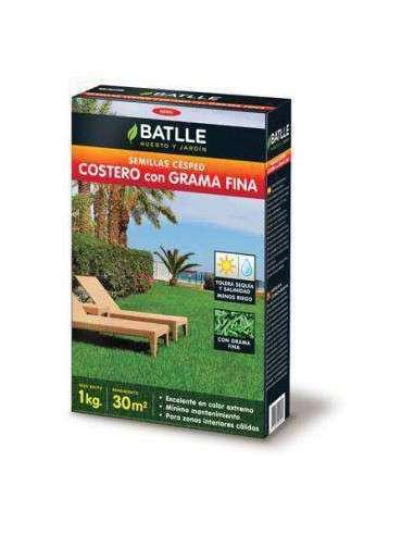Semillas de Césped Costero con Grama Fina 1Kg. Semillas Batlle - 1