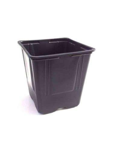 Mini Maceta Negra 9x9x10cm (0,6 l.) COCOPOT - 1