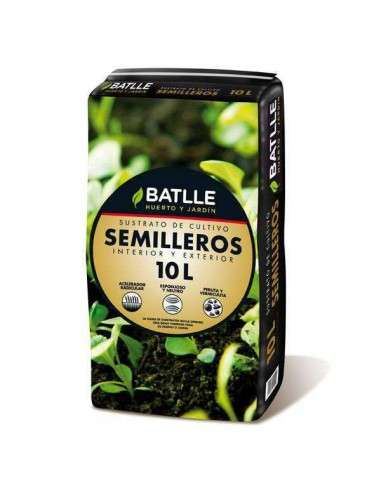 Sustrato Semilleros 10 litros Semillas Batlle - 1