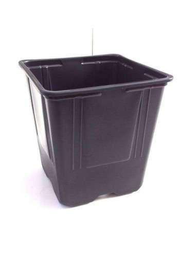 Mini Maceta Negra 11x11x12cm (0,6 l.)
