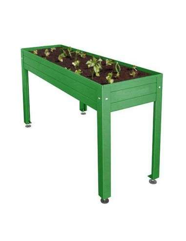 Mesa Cultivo Verde 150x50x85
