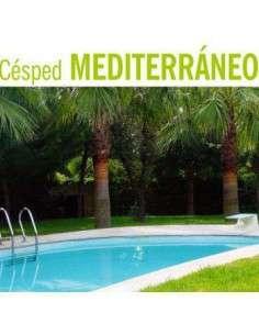 Semillas de Césped Mediterráneo con Grama 5Kg.