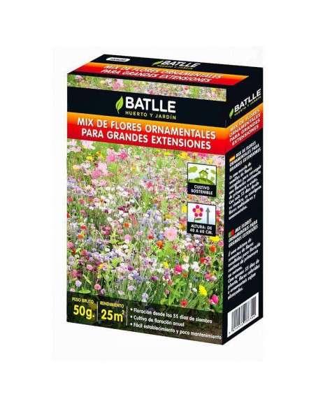 Semillas Mix Flores Ornamentales Gran Extensión Semillas Batlle - 1