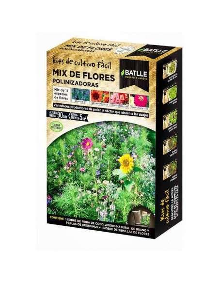 Semillas Mix Flores Polinizadoras Semillas Batlle - 1