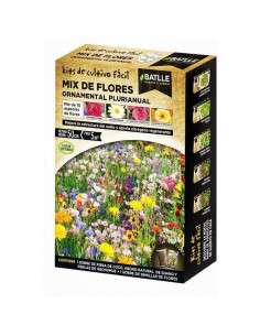 Semillas Mix Flores Ornamental Plurianual