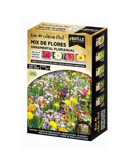 Semillas Mix Flores Ornamental Plurianual Semillas Batlle - 1