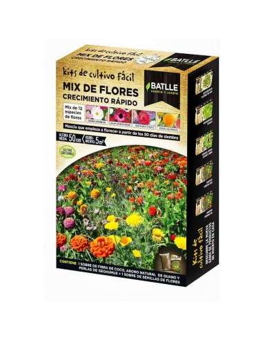 Semillas Mix Flores Crecimiento Rápido Semillas Batlle - 1