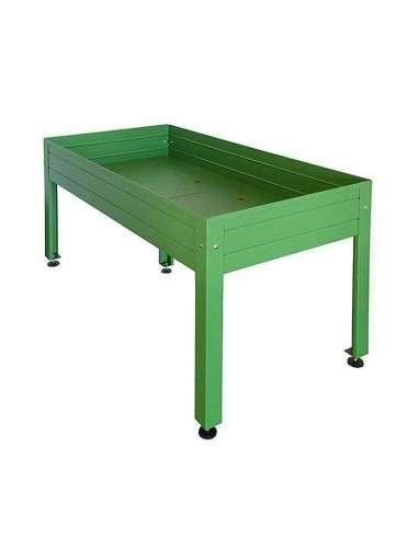 Mesa Cultivo Verde 150x75x65