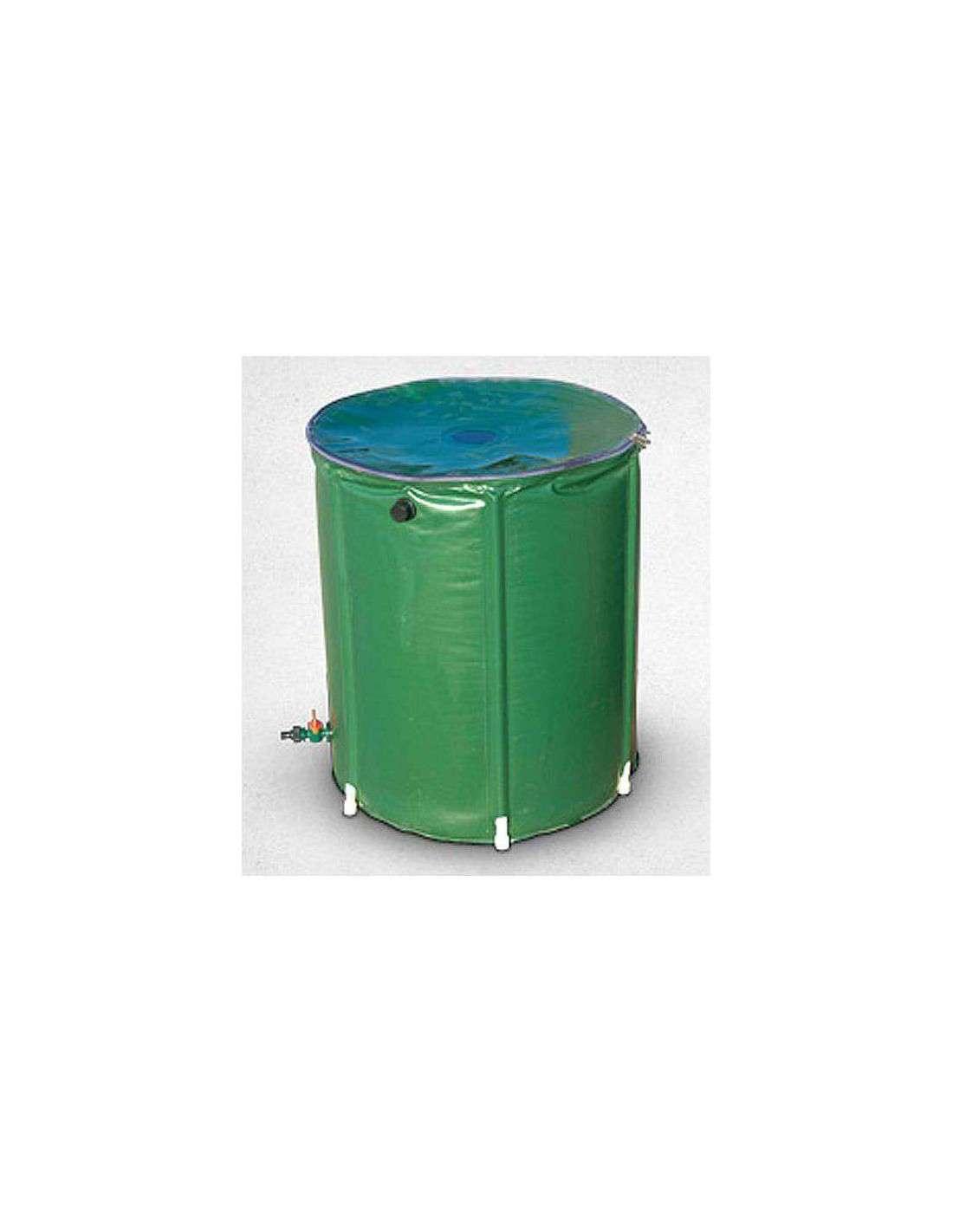 Recuperador agua lluvia 200 litros en cocopot huerto y jardin - Depositos agua lluvia ...