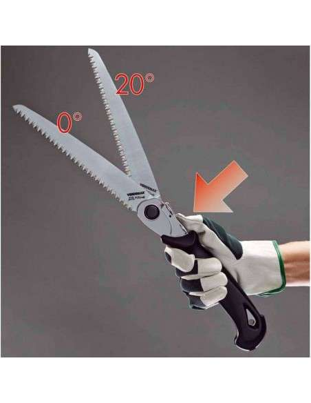 Serrucho Profesional Plegable 21cm VERDEMAX - 6