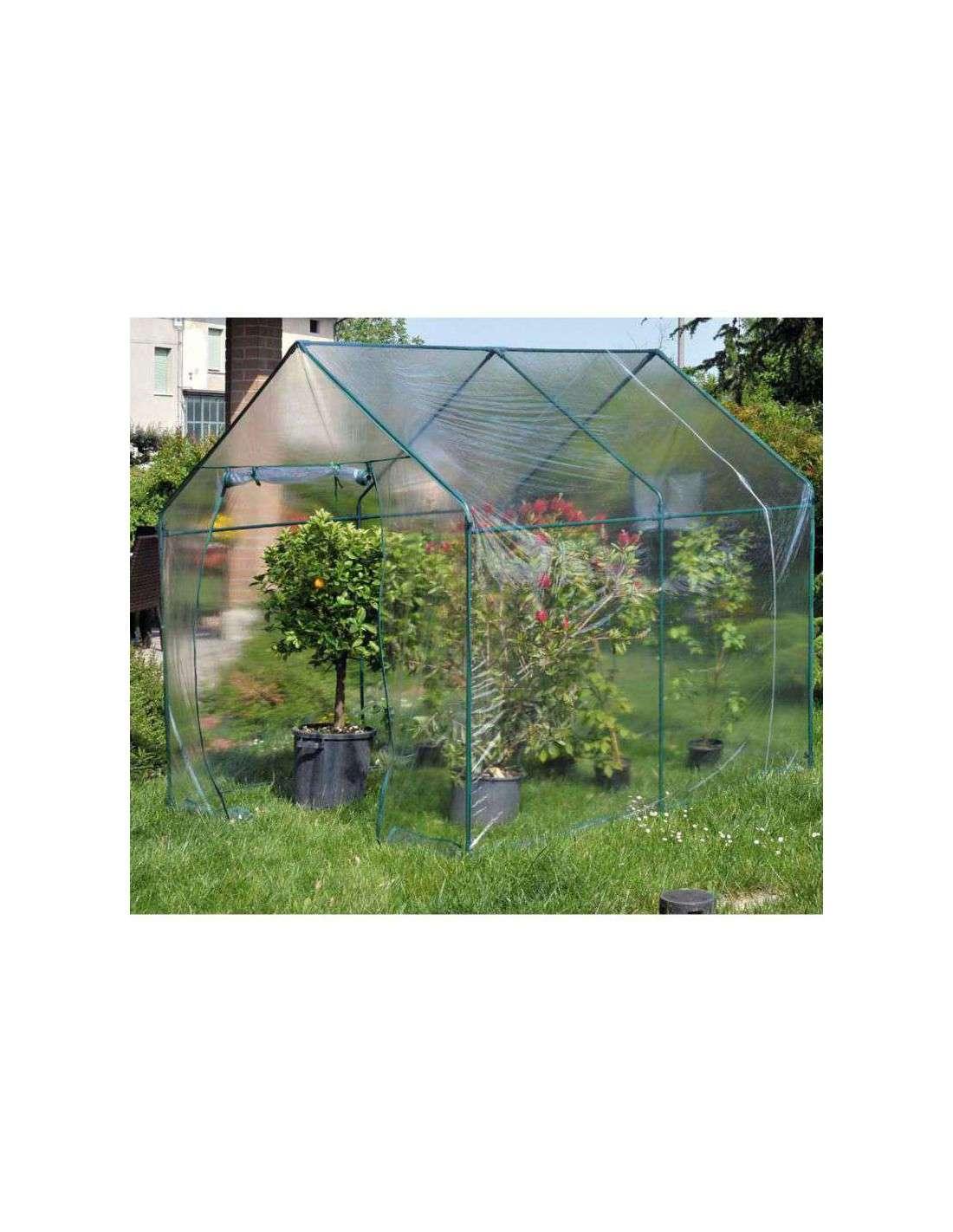 Invernadero jard n 185x240 cm en cocopot for Invernaderos para jardin