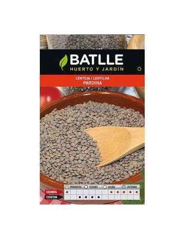 Semillas de Lenteja Pardina 250g. Semillas Batlle - 1