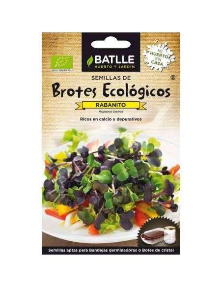 Semillas Brotes Rabanitos Semillas Batlle - 1