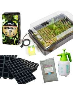 Kit Siembra Germinador Ajustable COCOPOT - 1