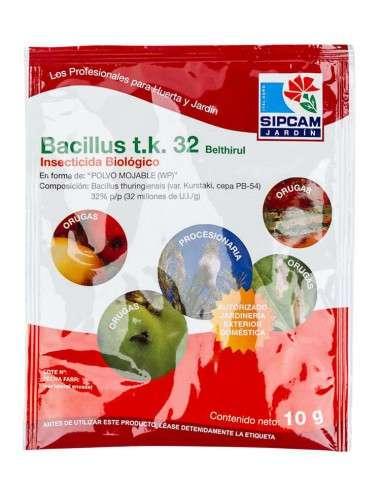 Bacillus Thuringiensis T.K. 32mill 10g