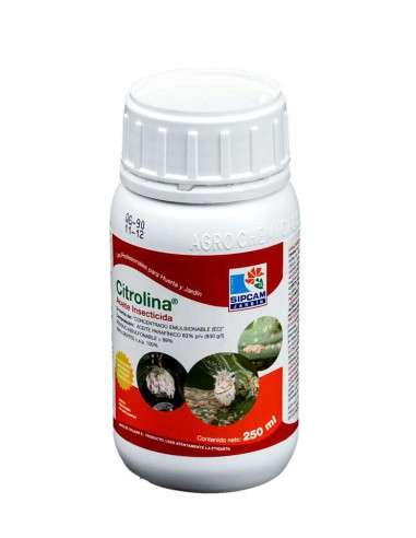 Aceite Insecticida CITROLINA 250ml