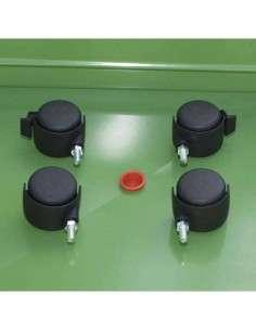 KIT de ruedas para mesa de cultivo