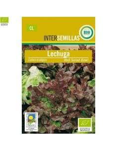Semillas de Lechuga Hoja Roble Ecológicas 100g.