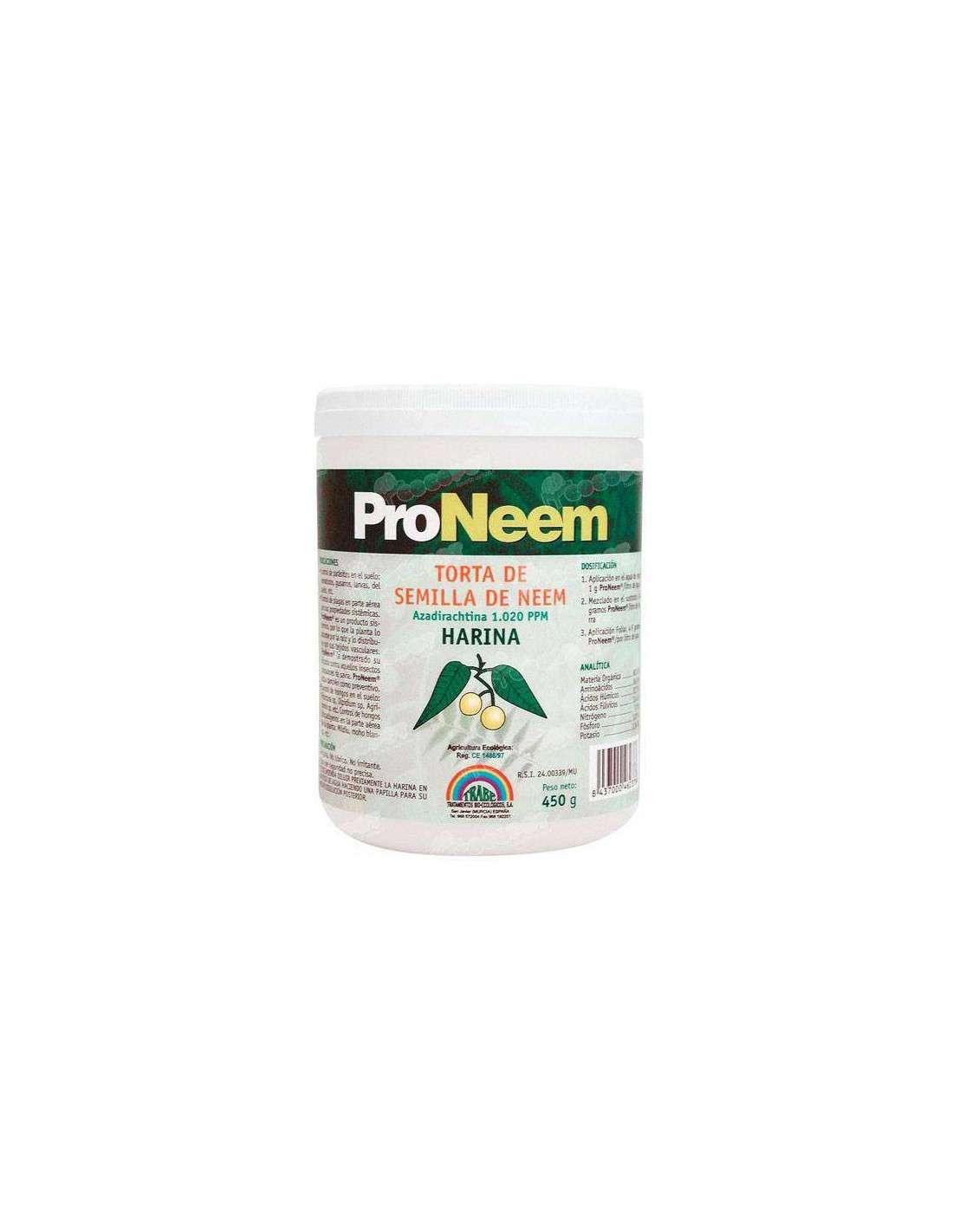 Fungicida Nematicida Ecológico Torta Neem 450g.