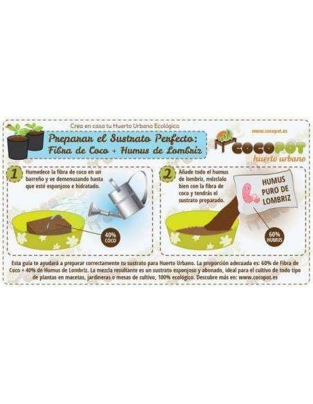 Fibra de Coco 10L. COCOPOT - 4