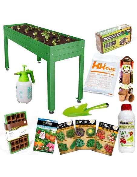 Kit Iniciación Huerto 150x50x85 Cultiva en casa - 16