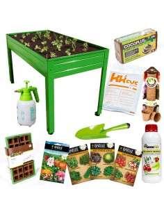Kit Iniciación Huerto 150x75x85 Cultiva en casa - 5