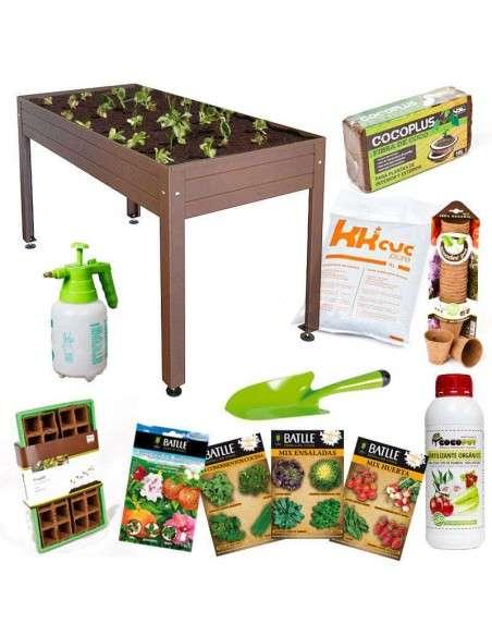 Kit Iniciación Huerto 150x75x85 Cultiva en casa - 1