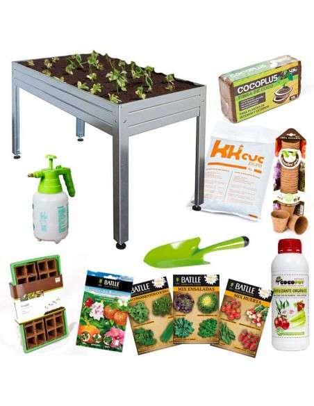 Kit Iniciación Huerto 150x75x85 Cultiva en casa - 3