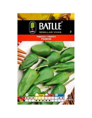 Semillas de Pimiento Padrón 100g. Semillas Batlle - 1