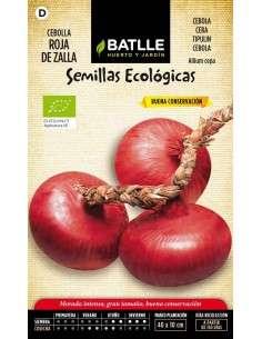 Semillas de Cebolla de Zalla Eco 100g. Semillas Batlle - 1