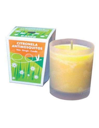 Vaso de Cristal Antimosquitos
