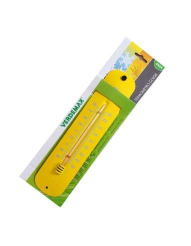 Termómetro Metal Amarillo COCOPOT - 1