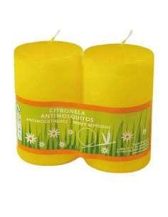 2 Velas de Citronela Antimosquitos