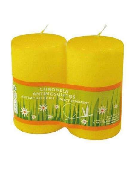2 Velas de Citronela Antimosquitos COCOPOT - 1