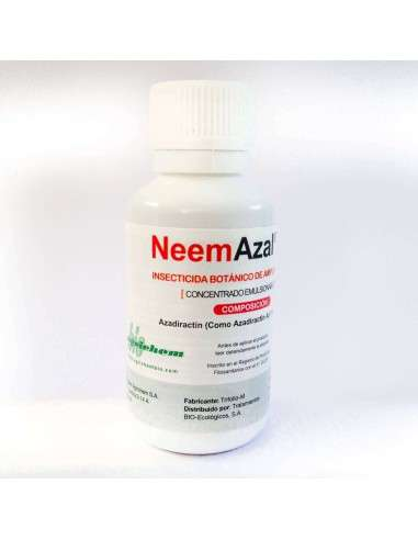 Insecticida Neem 30ml. Azadiractin A 1% EC Trabe - 1