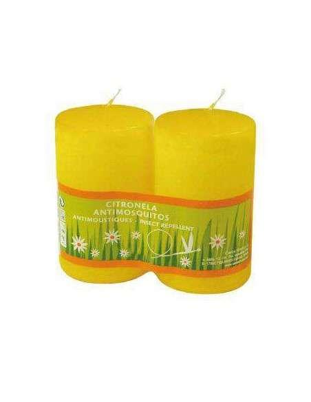 2 Velas de Citronela Antimosquitos COCOPOT - 2
