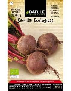 Semillas de Remolacha Detroit 2 Ecológica 100g Semillas Batlle - 1