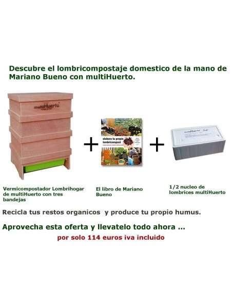 Kit Iniciación Lombricompostaje MultiHuerto - 3