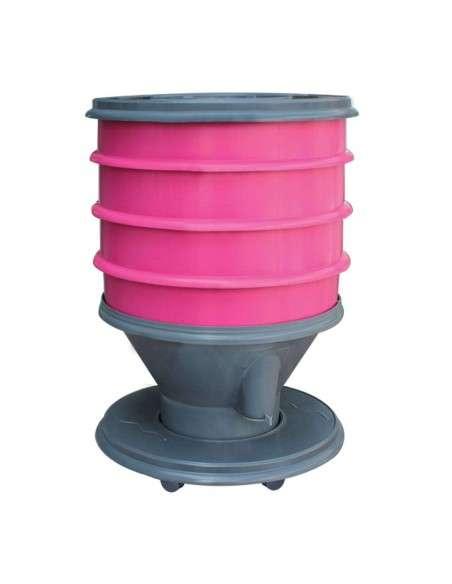 Vermicompostador Eco-Worm 30l. Frambuesa GRAF - 1