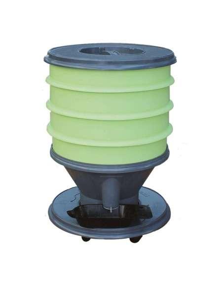 Vermicompostador Eco-Worm 30l. Verde GRAF - 1