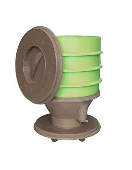Vermicompostador Eco-Worm 30l. Verde GRAF - 2