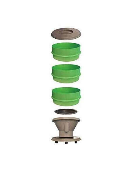 Vermicompostador Eco-Worm 30l. Verde GRAF - 3