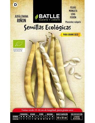 Semillas Ecológicas de Judía Riñón