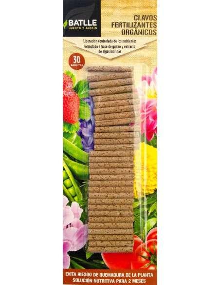Fertilizante Ecológico 30 barritas Semillas Batlle - 1