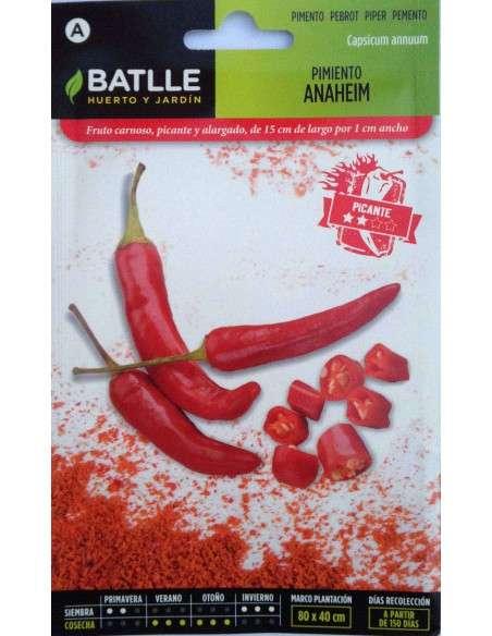 Semillas Pimiento Picante Anaheim Semillas Batlle - 1
